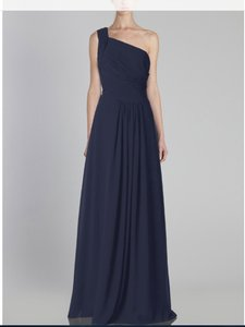 Monique Lhuillier Bridesmaid Wedding Chiffon Gown New Dress