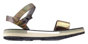 Lanvin Wedge bronze Sandals