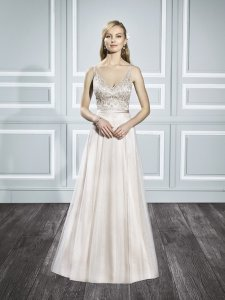 Moonlight Bridal T693 Wedding Dress
