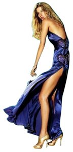 Versace One Shoulder Evening Gown Dress