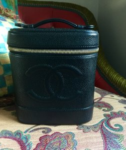Chanel Mint Condition Black Travel Bag