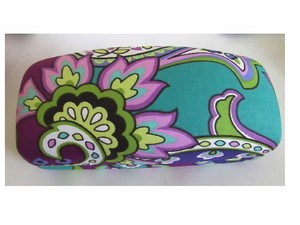 Vera Bradley NEW VERA BRADLEY HEATHER LARGE CLAMSHELL GLASSES CASE
