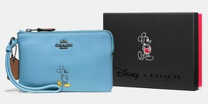 Coach Disney Disney X Limited Edition Mickey Wristlet in Blue