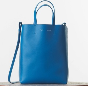 Céline Cabas Tote in turquoise