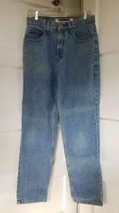 Anchor Blue Relaxed Fit Jeans-Medium Wash