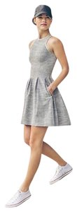 Lululemon Lululemon Here To There Dress Silver Spoon Size 4