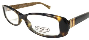 Coach Dark Tortoise Coach Women's Eyeglasses
