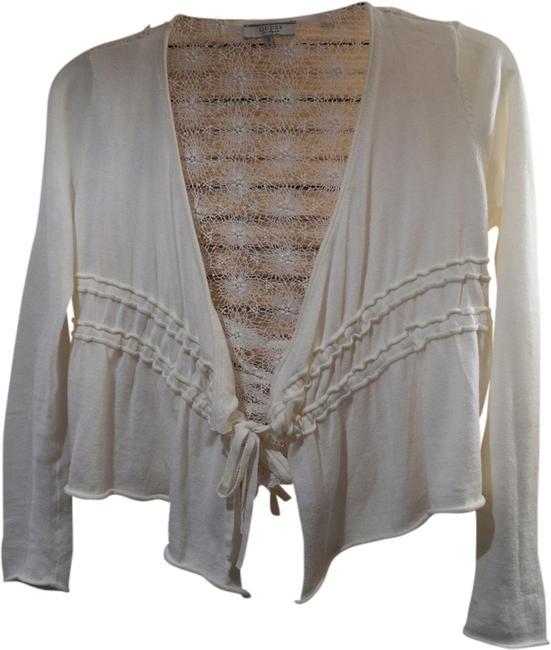 Preload https://item2.tradesy.com/images/guess-off-white-crochet-cotton-lace-detai-cardigan-size-4-s-1996771-0-0.jpg?width=400&height=650