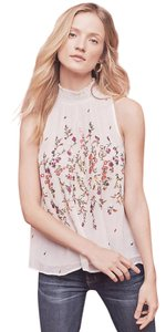 Floreat Anthropologie Sotra Top White