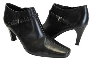 Style & Co Leather Size 9m Excellent Condition black Boots
