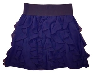 Express Mini Skirt Navy