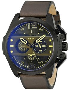 Diesel Diesel Men's DZ4364 'Ironside' Chronograph Brown Leather Watch