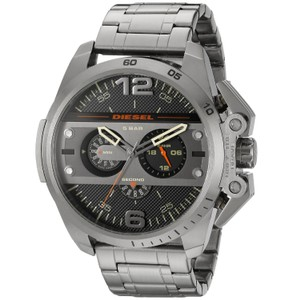 Diesel Diesel Men's DZ4363 'Ironside' Chronograph Grey Stainless Steel Watch