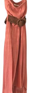 Coral Maxi Dress by Poetry