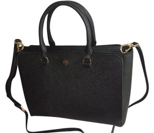 Tory Burch Robinson Robinson Small Robinson Crossbody Tote in Black