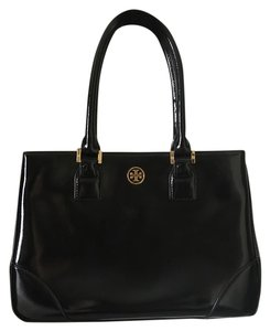 Tory Burch Robinson Robinson Tote in Black