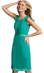 Boden Silk Ruffle Dress