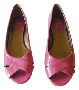 Cole Haan Nike Air Leather Pink Flats