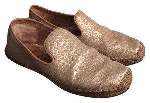 UGG Australia light gold Flats