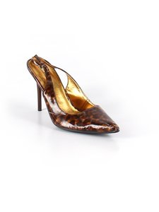 Charlotte Russe brown animal print Pumps