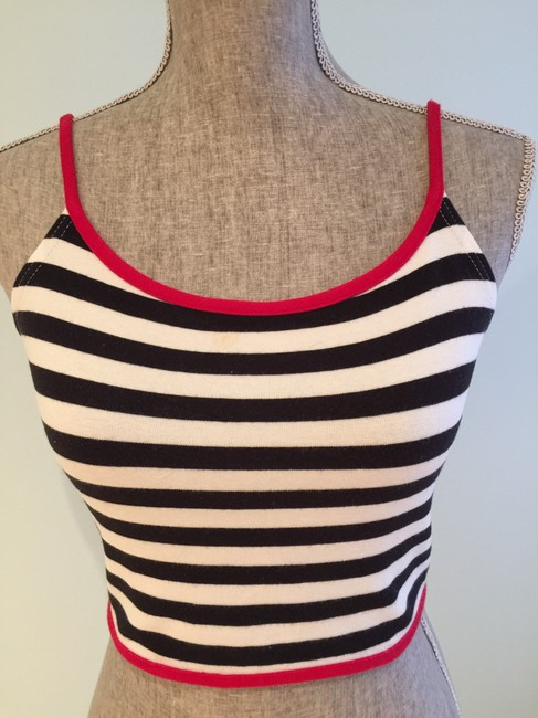 Express Crop Size Small Size Small Summer Top Red, White, Blue