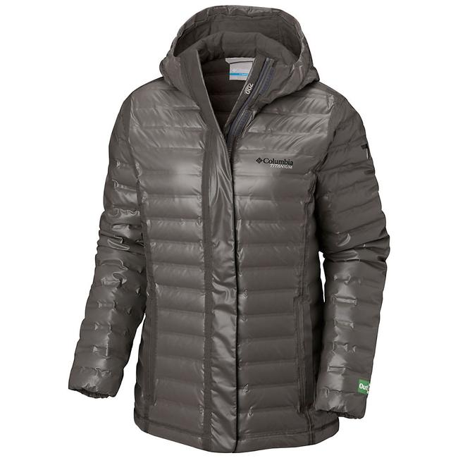 Item - Bamboo Charcoal Titanium Outdry Ex Eco Hooded Down Jacket Coat Size 2 (XS)