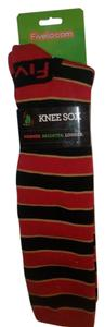 FiveLo S.F 49er Team color Knee Socks