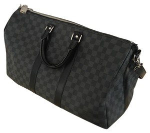 Louis Vuitton Grey Travel Bag