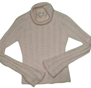 bebe Open Weave Casual Ribbed Angora Sweater
