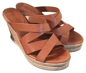 Jimmy Choo light brown Wedges