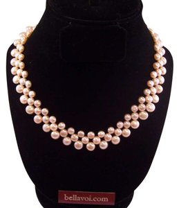 Jian Creations hand made pink pearl