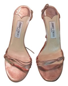 Jimmy Choo Vintage Strappy Casual rose gold Formal