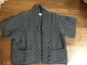 Lutz and Patmos Chunky Merino Oversized Cable Stitched Cardigan