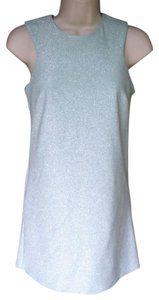 Topshop short dress seafoam Ultra Mini Go-go Retro 60's Mini Sparkle on Tradesy