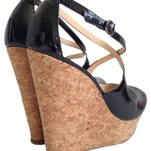 Alexandre Birman Black Platforms