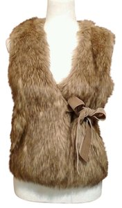 Juicy Couture Fauxfur Fur Vest