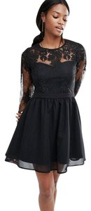Missguided Lace Prom Dress
