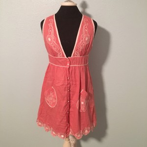 Charlotte Russe Top Pink and white