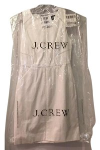 J.Crew short dress Vanilla white on Tradesy