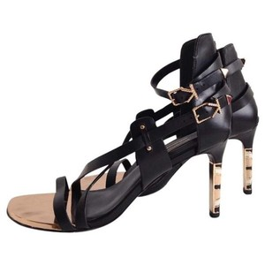 Ivy Kirzhner Delphic Leather Black Sandals