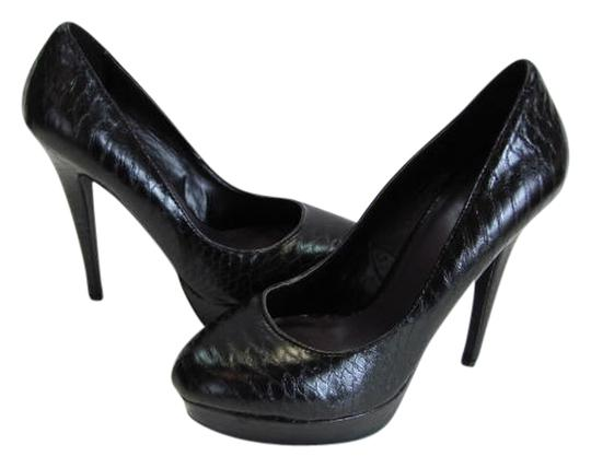 Joey O Size 8.00 M Very Good Condition black Platforms