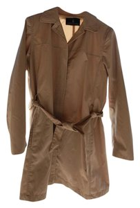 London Fog Trench Coat Beige New Belted tan Jacket