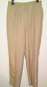 Alfred Dunner Trouser Pants Cream or Ivory