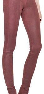 Helmut Lang Red Leggings
