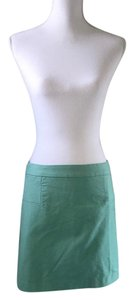 Max Studio Mini Skirt Blue/Green