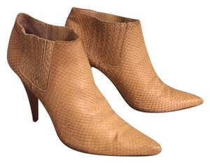 Kenneth Cole Tan Snakeskin Expresso Boots