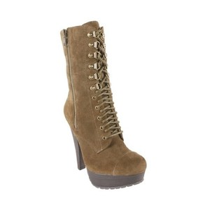 Steve Madden Olive Green Boots