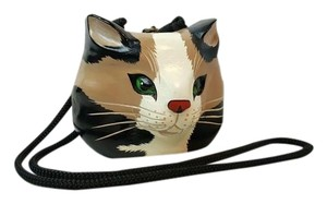 Timmy Woods Calico Cat Shoulder Bag
