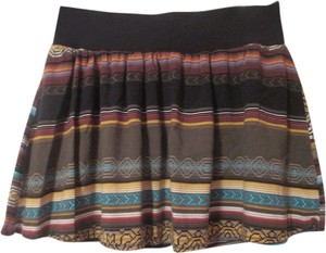 Lily White Casual Mini Skirt