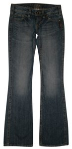 Silver Jeans Co. 5 Pocket Style Zip Fly Boot Cut Jeans-Medium Wash